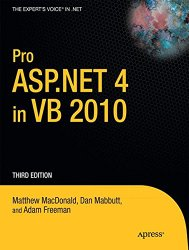 Pro ASP.NET 4 in VB 2010 (Expert's Voice in .NET)