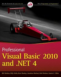 Professional Visual Basic 2010 and .NET 4