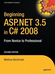 Beginning ASP.NET 3.5 in C# 2008: From Novice to Professional (Expert's Voice in .NET)