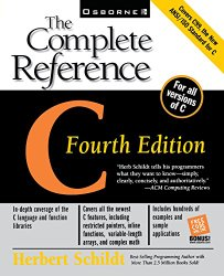C: The Complete Reference, 4th Ed.