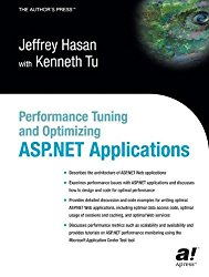 Performance Tuning and Optimizing ASP.NET Applications