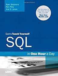 Sams Teach Yourself SQL in One Hour a Day (5th Edition)