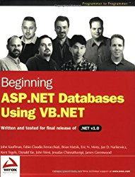 Beginning ASP.NET Databases Using VB.NET (Programmer to Programmer)