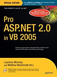 Pro ASP.NET 2.0 in VB 2005, Special Edition