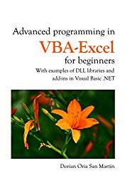 Advanced programming in VBA-Excel for beginners: With examples of DLL libraries and Add-Ins in Visual Basic .NET