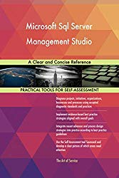 Microsoft Sql Server Management Studio A Clear and Concise Reference
